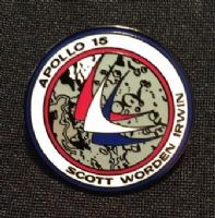 NASA Apollo 15 Mission Lapel Pin